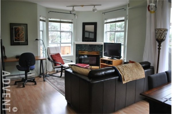 Scenic Villas Unfurnished 2 Bedroom Apartment For Rent in East Vancouver. 204 - 1481 East 4th Avenue, Vancouver, BC, Canada.