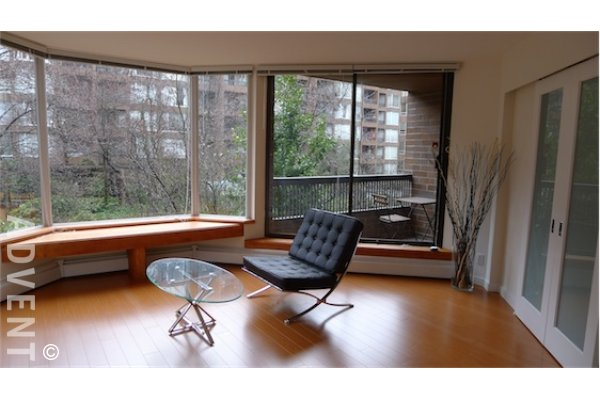 Anchor Point 1 Bedroom Apartment For Rent in Downtown Vancouver. 320 - 1330 Burrard Street, Vancouver, BC, Canada.