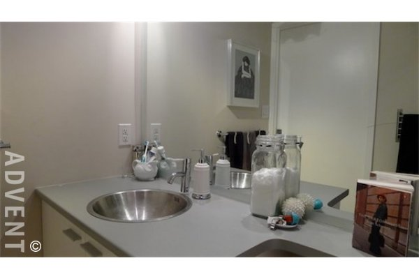 Unfurnished Apartment For Rent in Downtown Vancouver at Spectrum. 3102 - 111 West Georgia Street, Vancouver, BC, Canada.