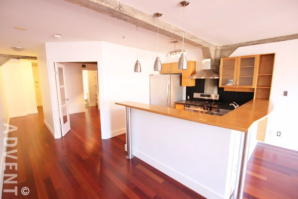 Murchies Building 1 Bedroom Apartment For Rent in Yaletown, Vancouver. 507 - 1216 Homer Street, Vancouver, BC, Canada.