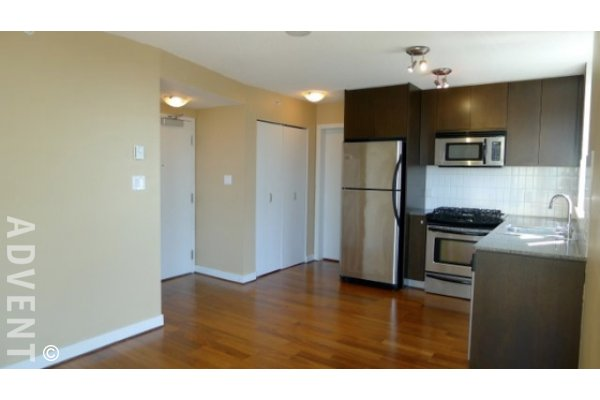 1 Bedroom Unfurnished Apartment Rental at La Colomba in Fairview. 1104 - 1030 West Broadway, Vancouver, BC, Canada.