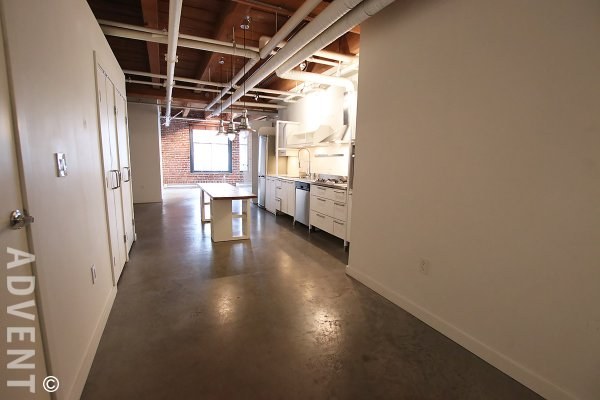 Koret Lofts Unfurnished 1 Bedroom Loft For Rent in Gastown, Vancouver. 320 - 55 East Cordova Street, Vancouver, BC, Canada.