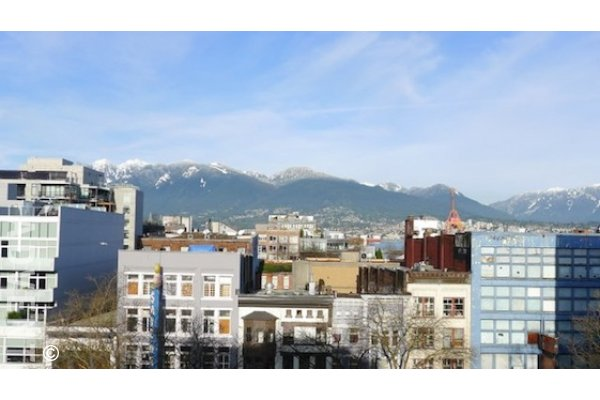 33 West Pender Unfurnished Loft For Rent in Gastown Vancouver. #704 - 33 West Pender Street, Vancouver, BC, Canada.