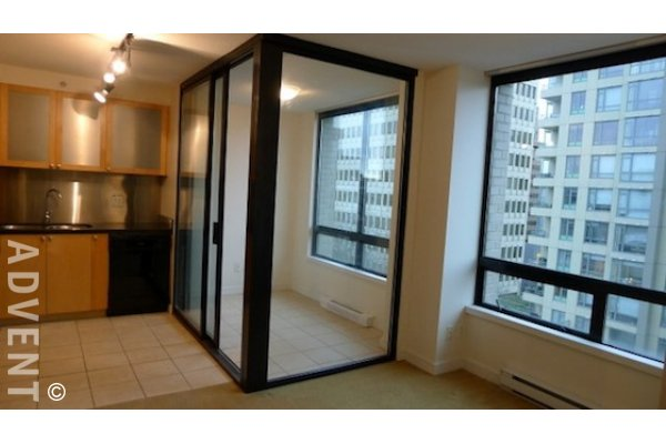 Milano 1 Bedroom Unfurnished Apartment For Rent In Downtown Vancouver 703 1003 Burnaby Street