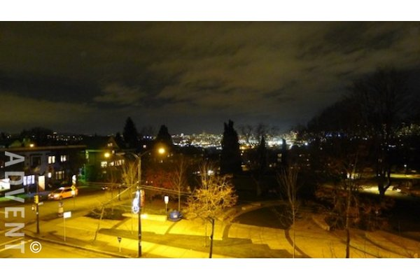 City Lights 2 Bed Apartment Rental in East Vancouver on Commercial Drive. 311 - 1707 Charles Street, Vancouver, BC, Canada.