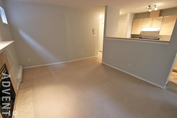 2nd Floor 1 Bedroom Unfurnished Apartment For Rent in Vancouver's West End. 202 - 1005 Broughton Street, Vancouver, BC, Canada.