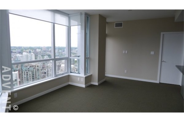 Luxury 2 Bedroom Apartment For Rent at Capitol Residences in Vancouver. 3901 - 833 Seymour Street, Vancouver, BC, Canada.