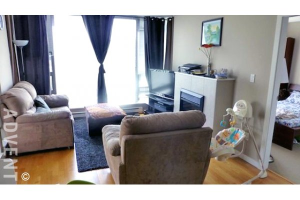 Tandem 2 Bedroom Unfurnished Apartment For Rent in Brentwood, Burnaby. 406 - 4178 Dawson Street, Burnaby, BC, Canada.