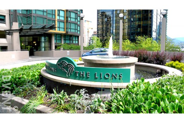 The Lions 1 Bedroom Unfurnished Apartment Rental in Downtown Vancouver. 310 - 1367 Alberni Street, Vancouver, BC, Canada.