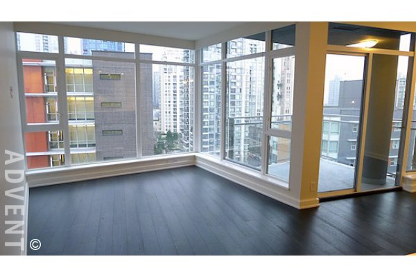 The Mark 1 Bedroom Unfurnished Apartment Rental in Yaletown Vancouver. 1503 - 1372 Seymour Street, Vancouver, BC, Canada.