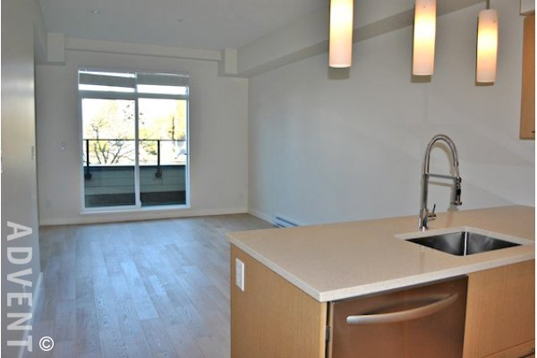 Unfurnished 1 Bedroom Apartment Rental at Shannon Station in Kerrisdale. 203 - 1880 West 57th Avenue, Vancouver, BC, Canada.