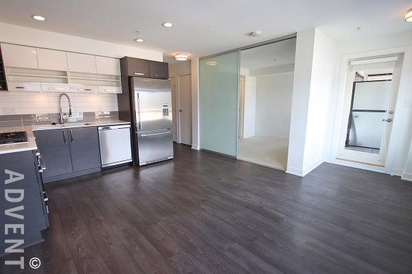 Kits West 1 Bedroom Unfurnished Apartment For Rent in Kitsilano, Westside Vancouver. 301 - 2858 West 4th Avenue, Vancouver, BC, Canada.