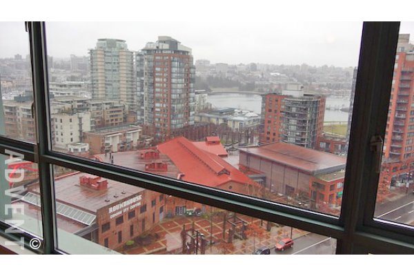 Pacific Plaza 2 Bedroom Unfurnished Apartment For Rent in Yaletown. 1403 - 283 Davie Street, Vancouver, BC, Canada.