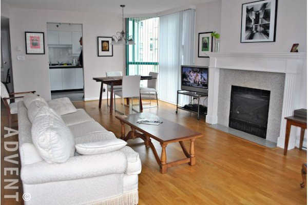 Regent 2 Bedroom Unfurnished Apartment Rental in Vancouver's West End. 701 - 1132 Haro Street, Vancouver, BC, Canada.