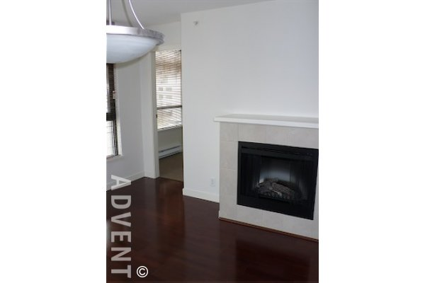 Mode 1 Bedroom Unfurnished Apartment For Rent in Downtown Vancouver. 602 - 538 Smithe Street, Vancouver, BC, Canada.