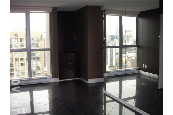 Metropolis 2 Bedroom Luxury Loft For Rent in Downtown Vancouver. 2203 - 1238 Richards Street, Vancouver, BC, Canada.