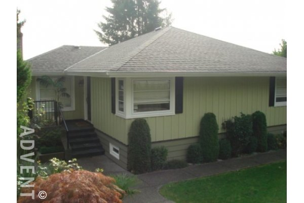 West Vancouver Unfurnished 4 Bedroom House For Rent in Sentinel Hill. 1086 Mathers Avenue, West Vancouver, BC, Canada.
