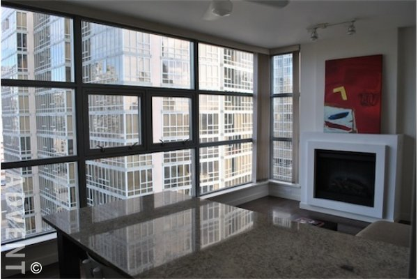 Nova Modern 1 Bedroom & Flex Unfurnished Apartment For Rent in Yaletown, Vancouver. 989 Beatty Street, Vancouver, BC, Canada.