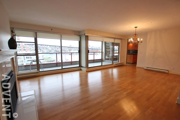 1000 Beach Luxury Unfurnished Apartment For Rent in False Creek, Vancouver. 402 - 1010 Beach Avenue, Vancouver, BC, Canada.