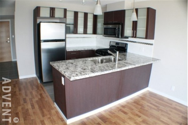 Modern 2 Bedroom Unfurnished Apartment Rental at Opal in Brighouse, Richmond. 1007 - 7888 Saba Road, Richmond, BC, Canada.