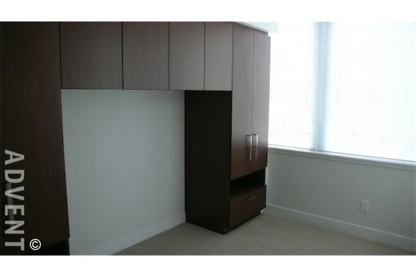 Unfurnished 1 Bedroom Apartment Rental at Donovan in Yaletown Vancouver. 1701 - 1055 Richards Street, Vancouver, BC, Canada.