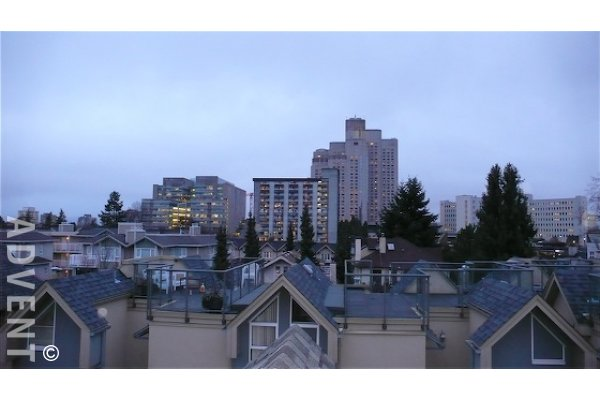 2 Level Unfurnished Townhouse For Rent on Vancouver's Westside in Fairview. 3031 Laurel Street, Vancouver, BC, Canada.