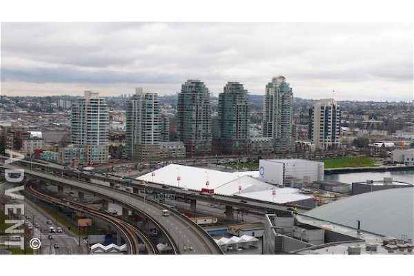 1 Bedroom Unfurnished Apartment Rental at Spectrum in Vancouver. 1907 - 602 Citadel Parade, Vancouver, BC, Canada.