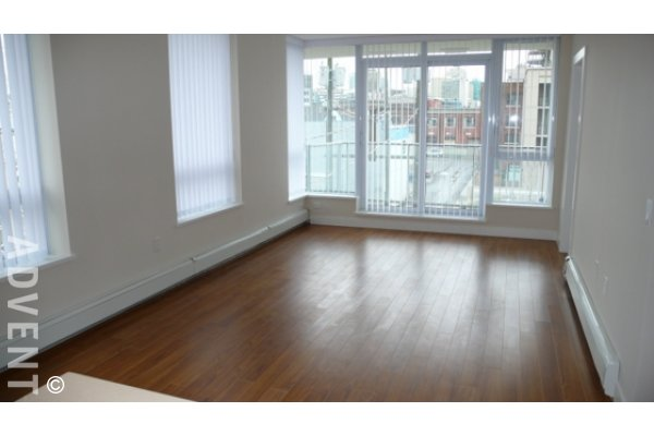 Foundry Modern 3rd Floor Unfurnished 2 Bedroom & Den Apartment Rental in Westside Vancouver. 307 - 1833 Crowe Street, Vancouver, BC, Canada.
