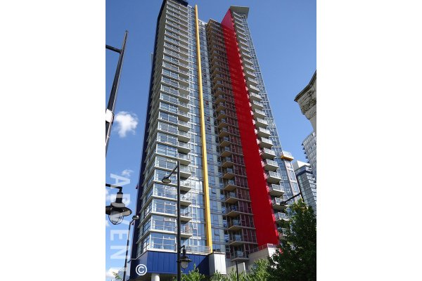 2 Bed & Den Apartment Rental with Mountain & Water Views at Spectrum in Vancouver. 3306 - 602 Citadel Parade, Vancouver, BC, Canada.