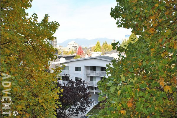 Westview Place 2 Bedroom Unfurnished Apartment Rental in Fairview, Westside Vancouver. 502 - 1166 West 11th Avenue, Vancouver, BC, Canada.