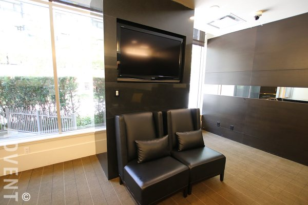 Luxury Unfurnished 2 Bedroom Apartment For Rent at Donovan in Yaletown. 1609 - 1055 Richards Street, Vancouver, BC, Canada.
