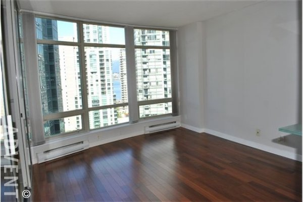 Pacific Palisades Unfurnished Apartment For Rent in Downtown Vancouver. 1105 - 1288 Alberni Street, Vancouver, BC, Canada.