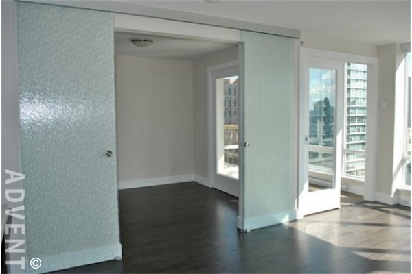 1 Bedroom + Solarium & Flex Apartment Rental at Dolce in Downtown Vancouver. 1904 - 535 Smithe Street, Vancouver, BC, Canada.