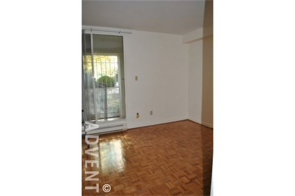 Emerald West 1 Bed Unfurnished Apartment For Rent in Downtown Vancouver. 100 - 717 Jervis Street, Vancouver, BC, Canada.
