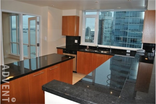 Escala 3 Bedroom Luxury Apartment Rental in Coal Harbour Vancouver. 2402 - 323 Jervis Street, Vancouver, BC, Canada.