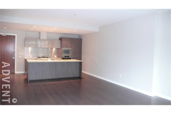 Kayak 3rd Floor 2 Bedroom + Flex & Solarium Apartment For Rent at The Olympic Village. 303 - 77 Walter Hardwick Avenue, Vancouver, BC, Canada.