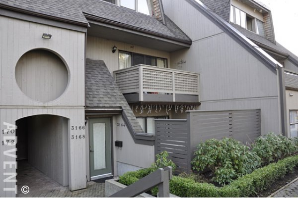 Lynn Valley 2 Bedroom Unfurnished Townhouse Rental in North Vancouver. 3164 Mountain Highway, North Vancouver, BC, Canada.