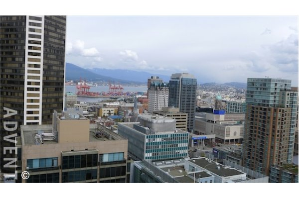Capitol Residences 1 Bedroom Apartment Rental in Downtown Vancouver. 2811 - 833 Seymour Street, Vancouver, BC, Canada.