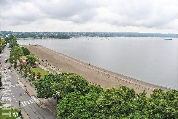 Luxury 2 Bedroom Apartment Rental at Sylvia in Vancouver's West End - Entire 11th Floor. 11 - 1861 Beach Avenue, Vancouver, BC, Canada.