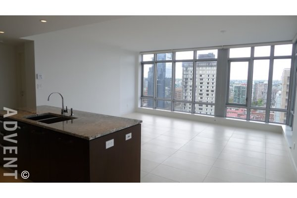 Patina 2 Bedroom & Den Luxury Apartment For Rent in Vancouver's West End. 2403 - 1028 Barclay Street, Vancouver, BC, Canada.