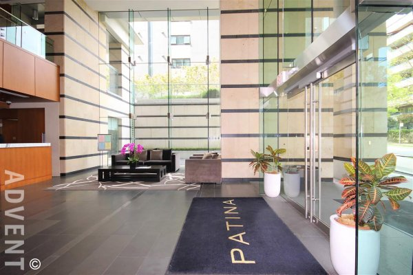 Luxury Unfurnished 2 Bedroom Apartment Rental at Patina in Vancouver's West End. 2502 - 1028 Barclay Street, Vancouver, BC, Canada.