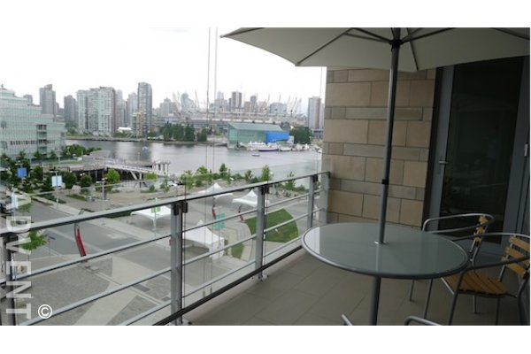 Luxury 2 Bedroom Apartment For Rent at Kayak at The Olympic Village. 604 - 77 Walter Hardwick Avenue, Vancouver, BC, Canada.
