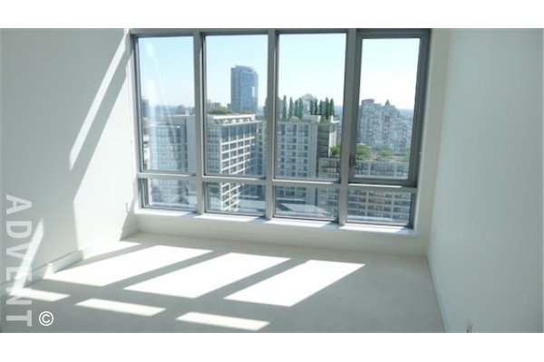 Luxury Apartment For Rent in Vancouver's West End at Patina. 2408 - 1028 Barclay Street, Vancouver, BC, Canada.