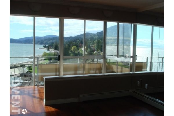 Unfurnished 1 Bedroom Apartment For Rent at Seastrand in West Vancouver. 1204 - 150 24th Street, West Vancouver, BC, Canada.