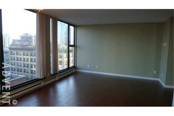 City Crest 1 Bedroom Unfurnished Apartment Rental in Yaletown Vancouver. 806 - 1155 Homer Street, Vancouver, BC, Canada.