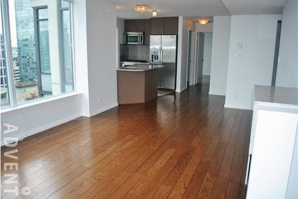The Ritz 2 Bedroom Luxury Apartment For Rent in Coal Harbour Vancouver. 3505 - 1211 Melville Street, Vancouver, BC, Canada.