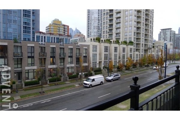Grace Luxury 1 Bedroom Unfurnished Apartment Rental in Yaletown Vancouver. 502 - 1280 Richards Street, Vancouver, BC, Canada.