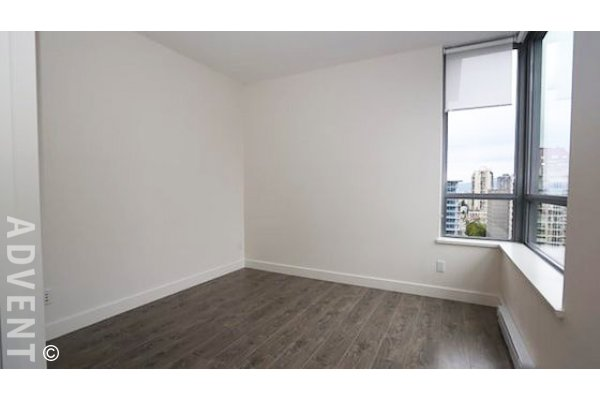 Salt 1 Bedroom Unfurnished Apartment Rental in Downtown Vancouver. 1802 - 1308 Hornby Street, Vancouver, BC, Canada.