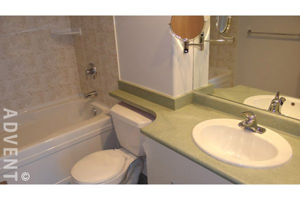 The Carnegie 2 Bedroom Unfurnished Apartment Rental in Kitsilano. 307 - 1818 West 6th Avenue, Vancouver, BC, Canada.