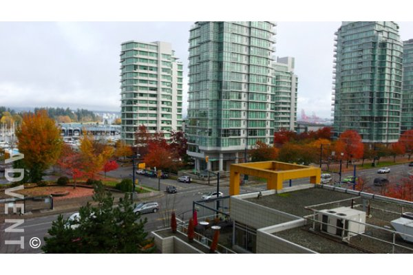 Lumiere Luxury 2 Bedroom Unfurnished Apartment Rental in Coal Harbour. 602 - 1863 Alberni Street, Vancouver, BC, Canada.